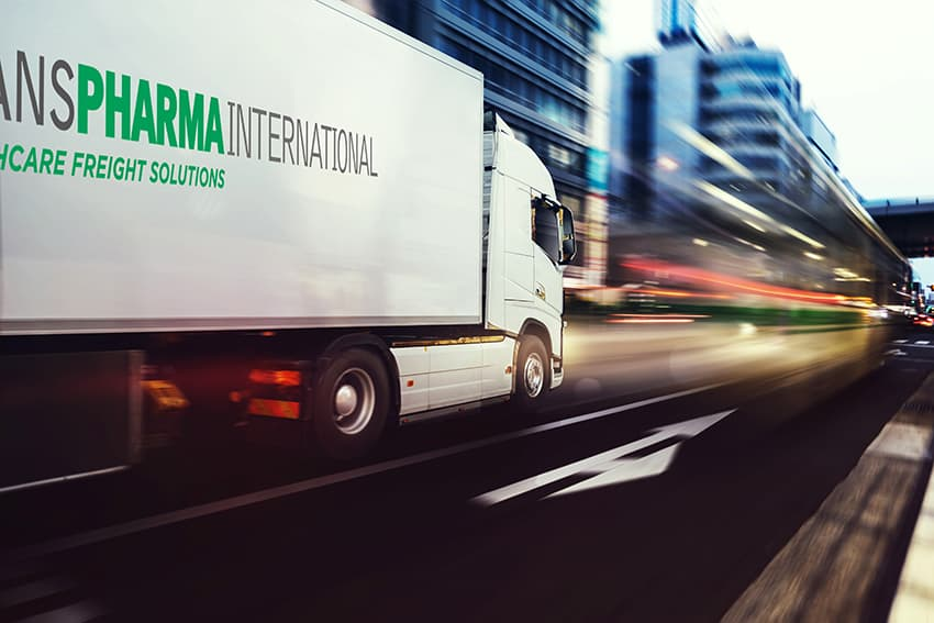 Transpharma International truck
