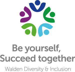 Be yourself, succeed together Walden diversity and inclusion logo